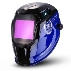 Durable Solar Powered Welding Helmet Auto Darkening Professional Hood with LED Digital Display